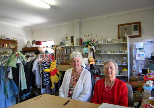 Volunteers in our Headway Charity Shop