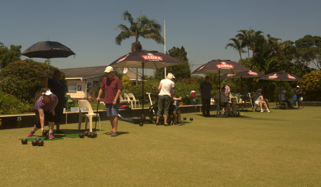 Headway-Natal members and carers at the annual bowls tournament.