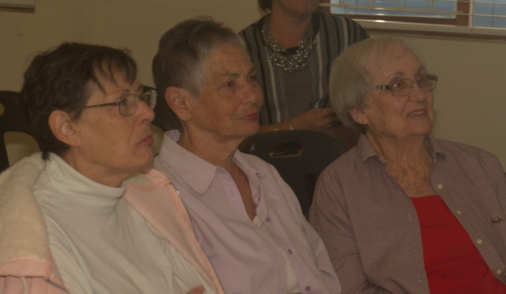 Patsy, Jenny and Betty, attendees at the Headway-Natal 2018 Stroke Day.